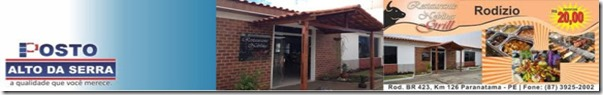 Posto Alto da Serra, Paranatama-PE