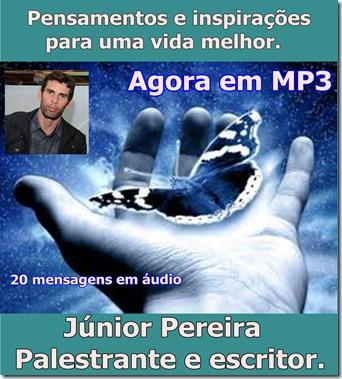 Lançamento do CD de áudio de Júnior Pereira (Pensamentos e inspirações). Auto ajuda e Motivação. Adquira já o seu!
