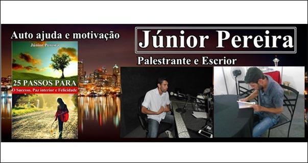 Auto ajuda e motivação, Júnior Pereira Palestrante e escritor.jpg4