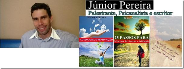 Palestrante e escritor Junior Pereira