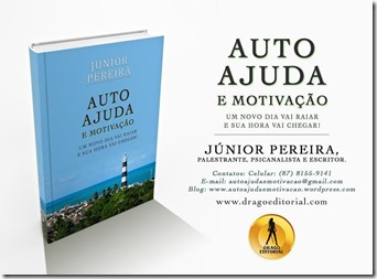 Livro: Auto ajuda e Motivação. Palestrante Junior Pereira